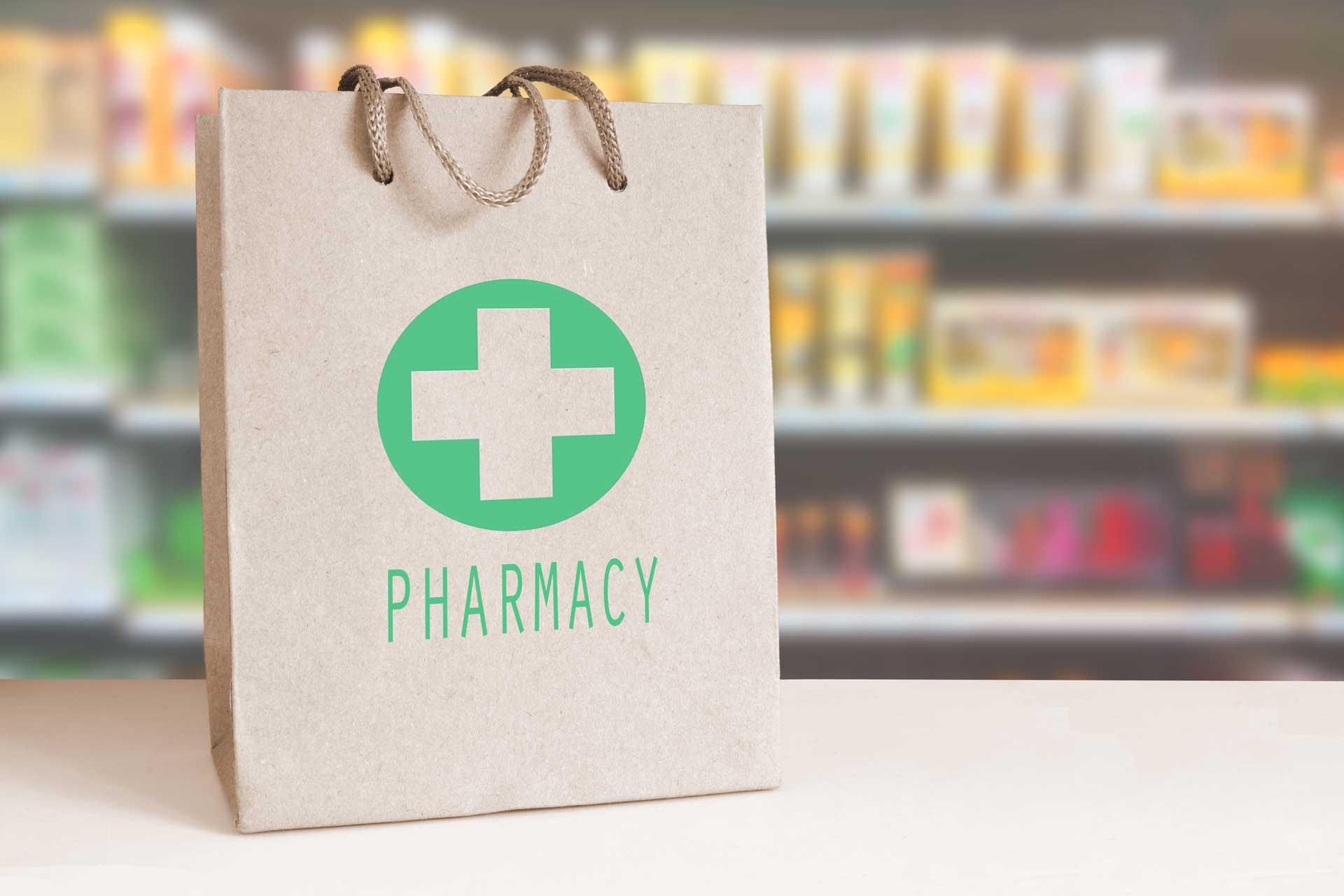 Sachet de pharmacie