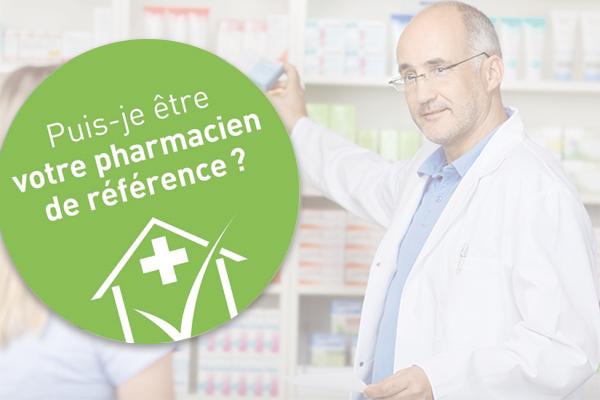 Puis-je être votre pharmacien de référence ?