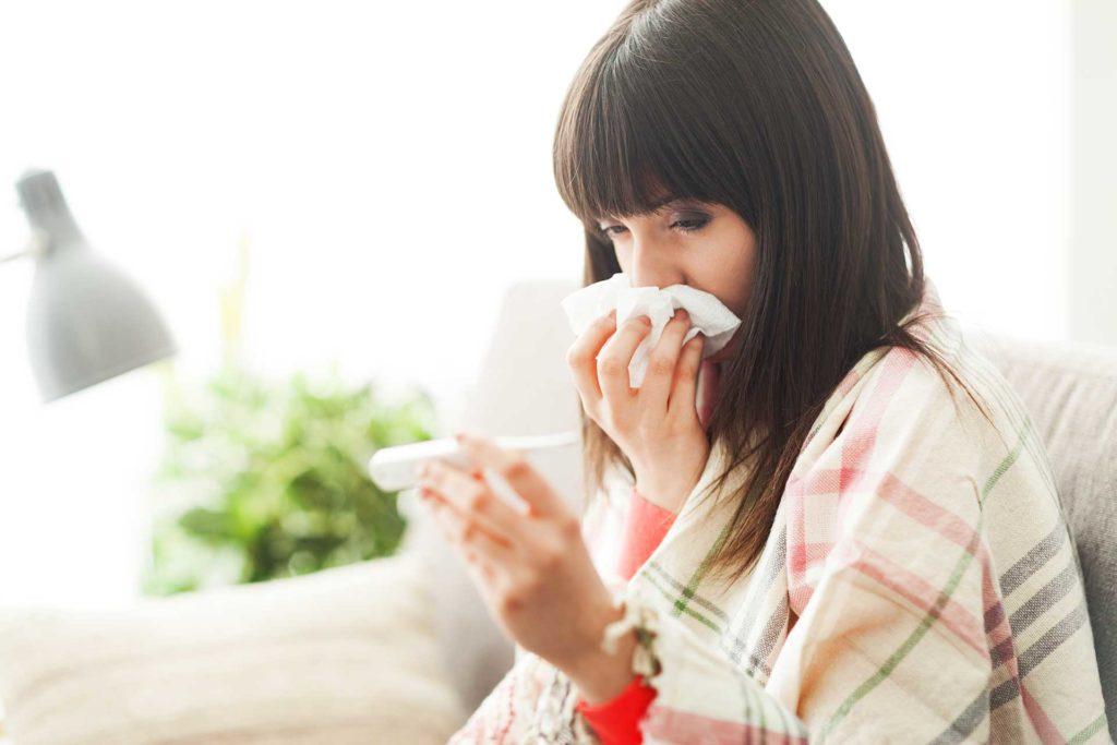 Personne grippée